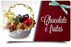 Chocolate e frutas